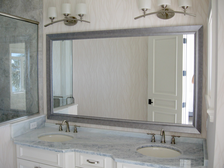Mirror frames custom designs for home or business for Unique mirror frames