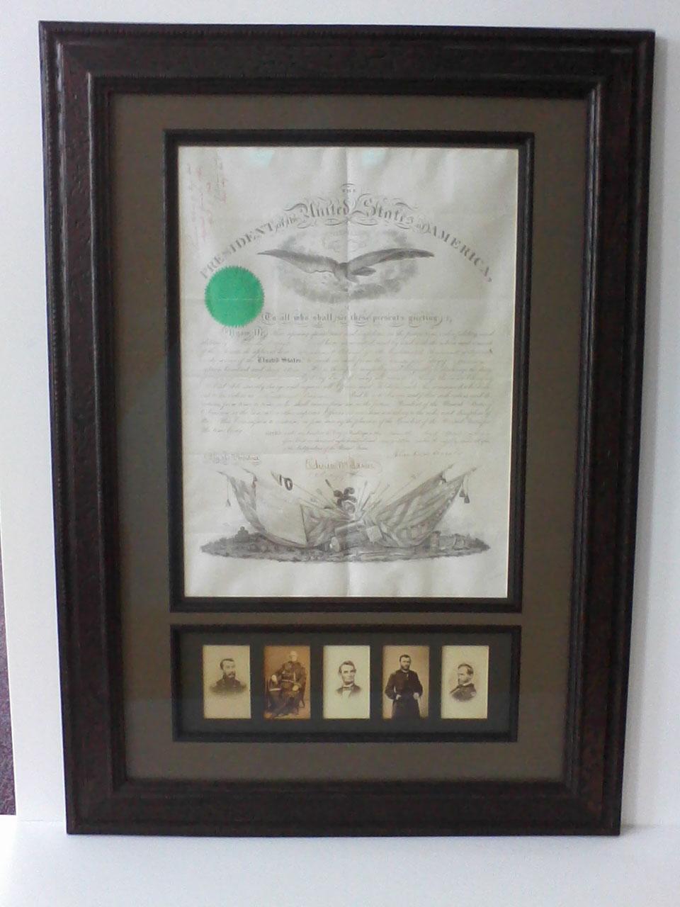 Memorabilia & Historic Documents
